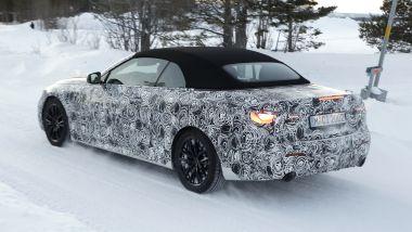 Nuova BMW Serie 4 Cabrio: capote in tela e motori turbo