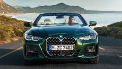 Nuova BMW Serie 4 Cabrio: frontale