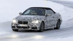 Nuova BMW Serie 4 Cabrio 2020: foto spia, motore, lancio