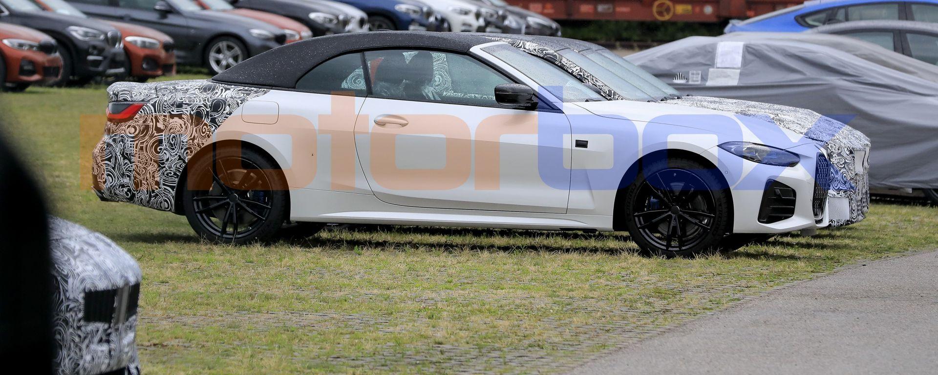 Nuova BMW Serie 4 Cabrio, il nuovo tetto è in tela, non più in metallo