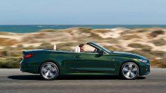 Nuova BMW Serie 4 Cabrio: laterale