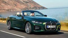 Nuova BMW Serie 4 Cabrio: ora con capote in tela