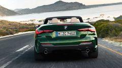 Nuova BMW Serie 4 Cabrio: posteriore