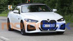 Nuova BMW Serie 4 Cabrio: praticamente senza veli