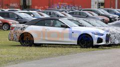 Nuova BMW Serie 4 Cabrio, si noti la maxi-griglia frontale