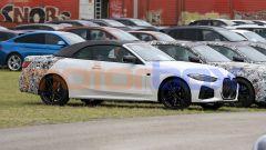 Nuova BMW Serie 4 Cabrio, vista 3/4 anteriore