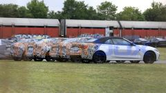 Nuova BMW Serie 4 Cabrio, vista 3/4 posteriore