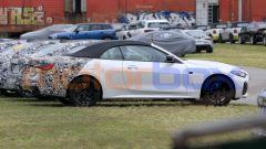 Nuova BMW Serie 4 Cabrio, vista laterale