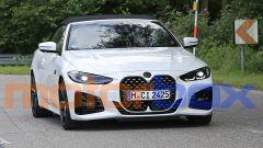 Nuova BMW Serie 4 Cabrio: visuale frontale