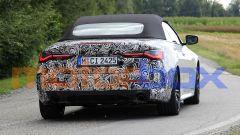 Nuova BMW Serie 4 Cabrio: visuale posteriore