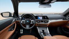 Nuova BMW Serie 4 Coupé, gli interni