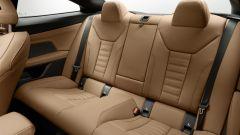 Nuova BMW Serie 4 Coupé, i sedili posteriori