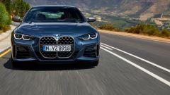 Nuova BMW Serie 4 Coupé, il frontale