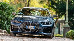 Nuova BMW Serie 4 Coupé: il frontale