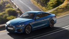 Nuova BMW Serie 4 Coupé, il profilo resta molto elegante