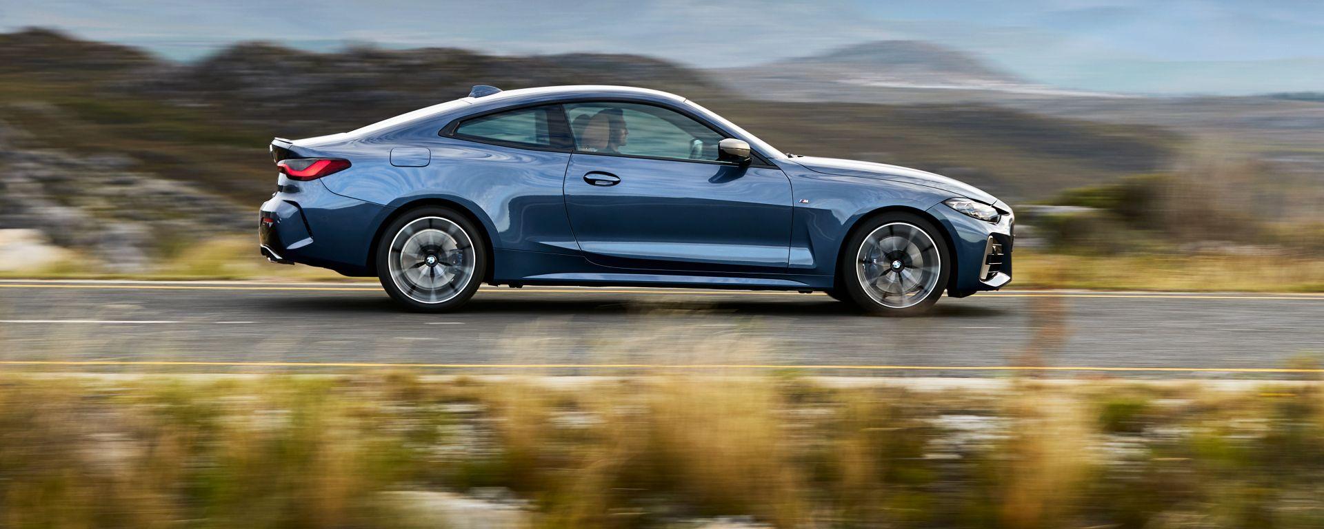 Nuova BMW Serie 4 Coupé, la fiancata