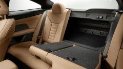 Nuova BMW Serie 4 Coupé: lo schienale posteriore frazionato