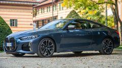 Nuova BMW Serie 4 Coupé: vista 3/4 anteriore