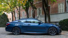 Nuova BMW Serie 4 Coupé: vista laterale