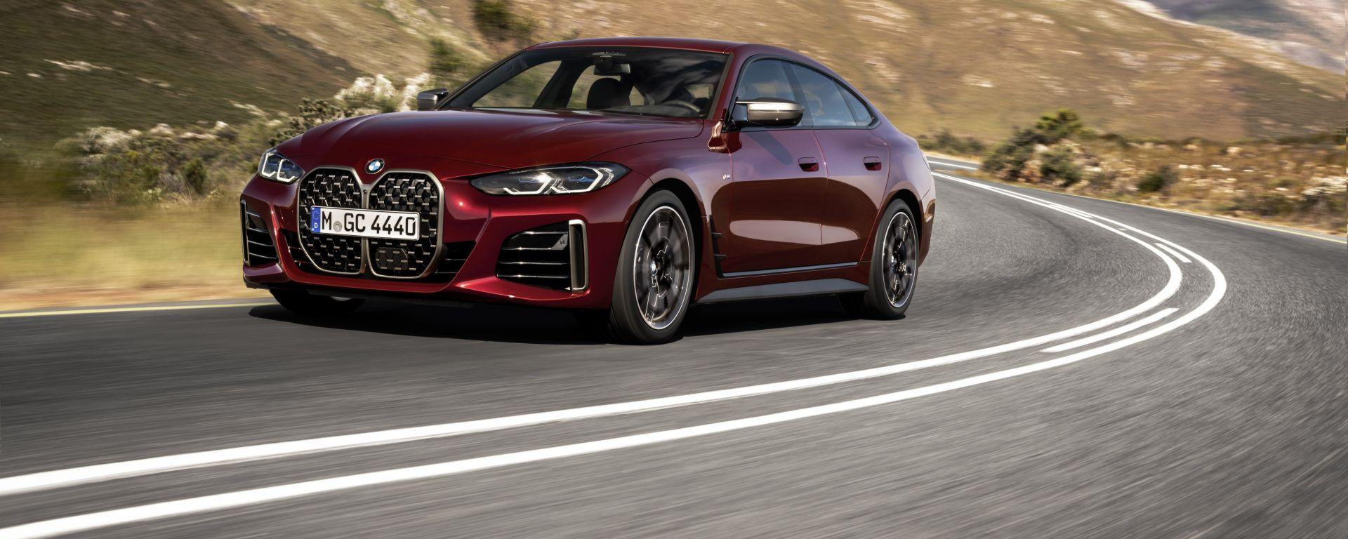 Nuova BMW Serie 4 Gran Coupé: in arrivo la seconda generazione
