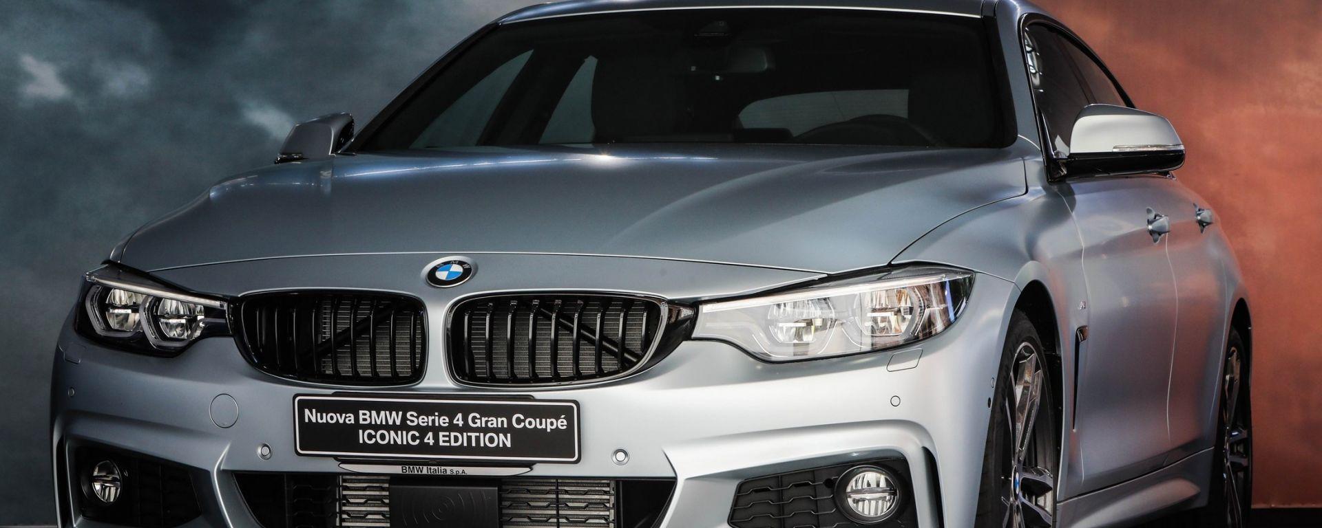 Nuova BMW Serie 4 ICONIC 4 EDITION: allestimento speciale per l'Italia