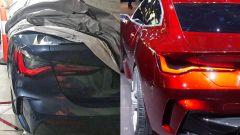 Nuova BMW Serie 4 vs BMW Concept 4: posteriori a confronto