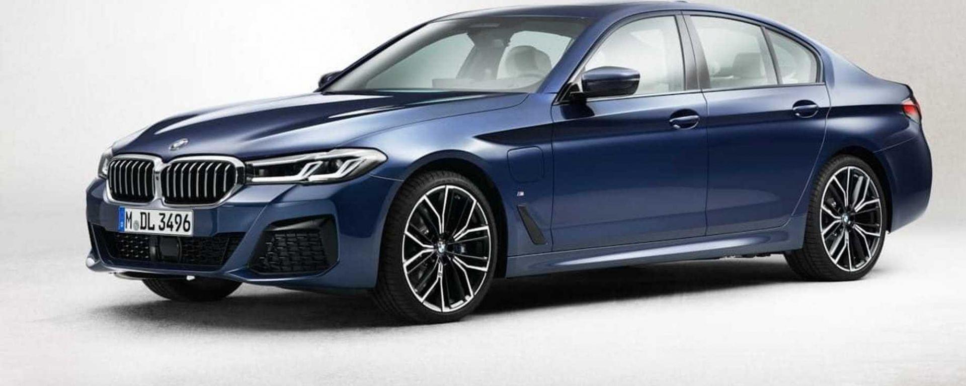 Nuova BMW Serie 5: dettaglio frontale