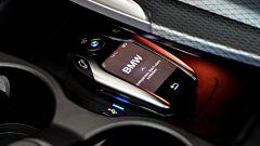 Nuova BMW Serie 5 Touring 2017: dettaglio della Touch Key