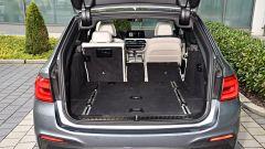 Nuova BMW Serie 5 Touring 2017: il vano bagagli