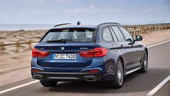 Nuova BMW Serie 5 Touring: anche al posteriore le luci sono full led