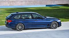 Nuova BMW Serie 5 Touring: il montante posteriore è più inclinato