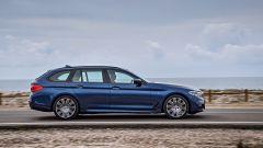 Nuova BMW Serie 5 Touring: l'aspetto ora è più slanciato