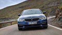 Nuova BMW Serie 5 Touring: vista anteriore