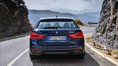 Nuova BMW Serie 5 Touring: vista posteriore