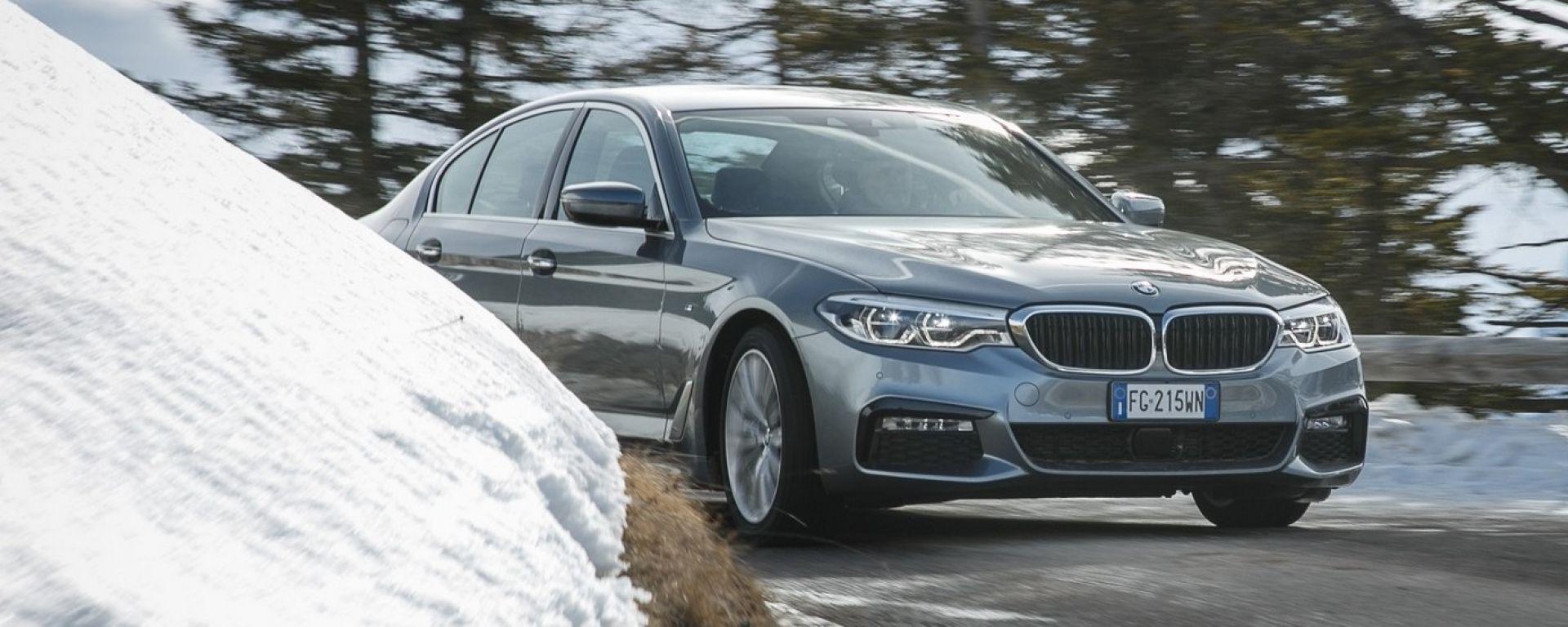 BMW xDrive Experience: al volante della Serie 5 MSport xDrive