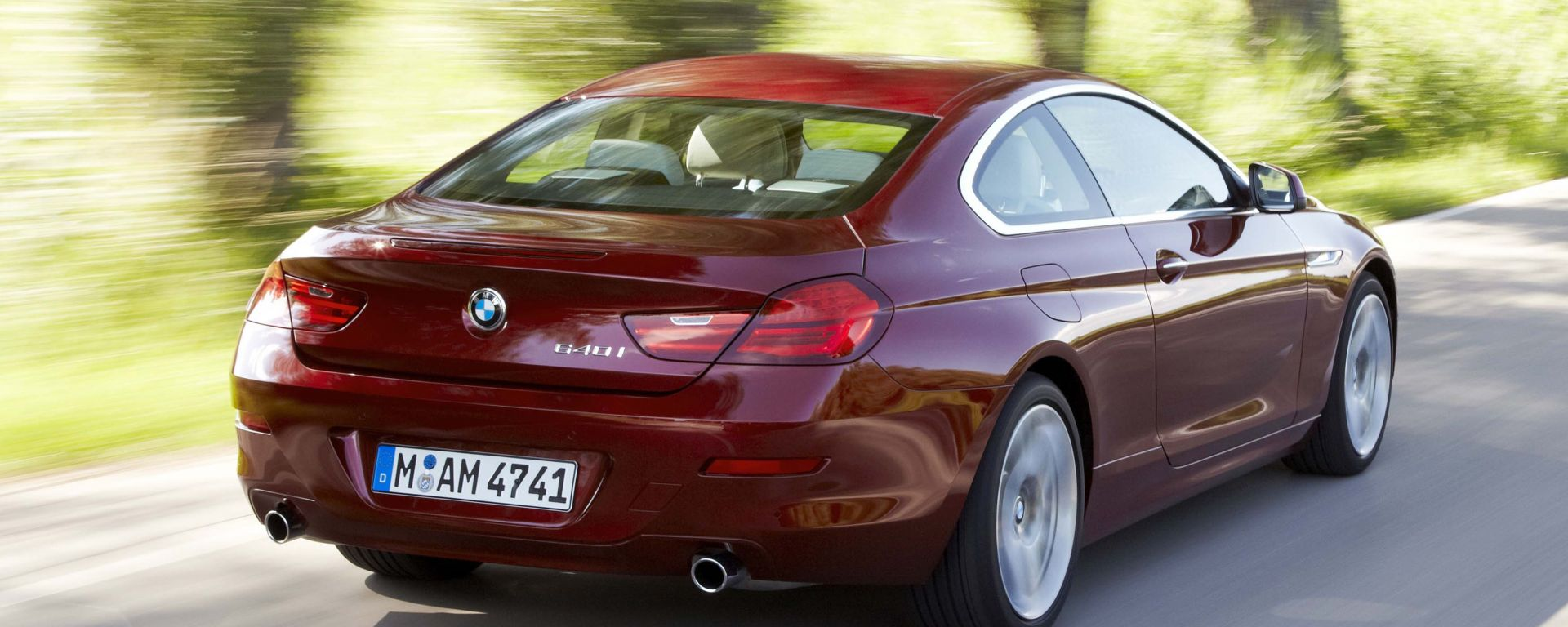 Bmw Serie 6 Coupé 2012: nuovi dati e nuove foto in HD