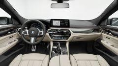 Nuova BMW Serie 6 GT 2020: gli interni