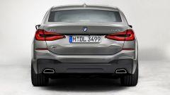 Nuova BMW Serie 6 GT 2020: visuale posteriore