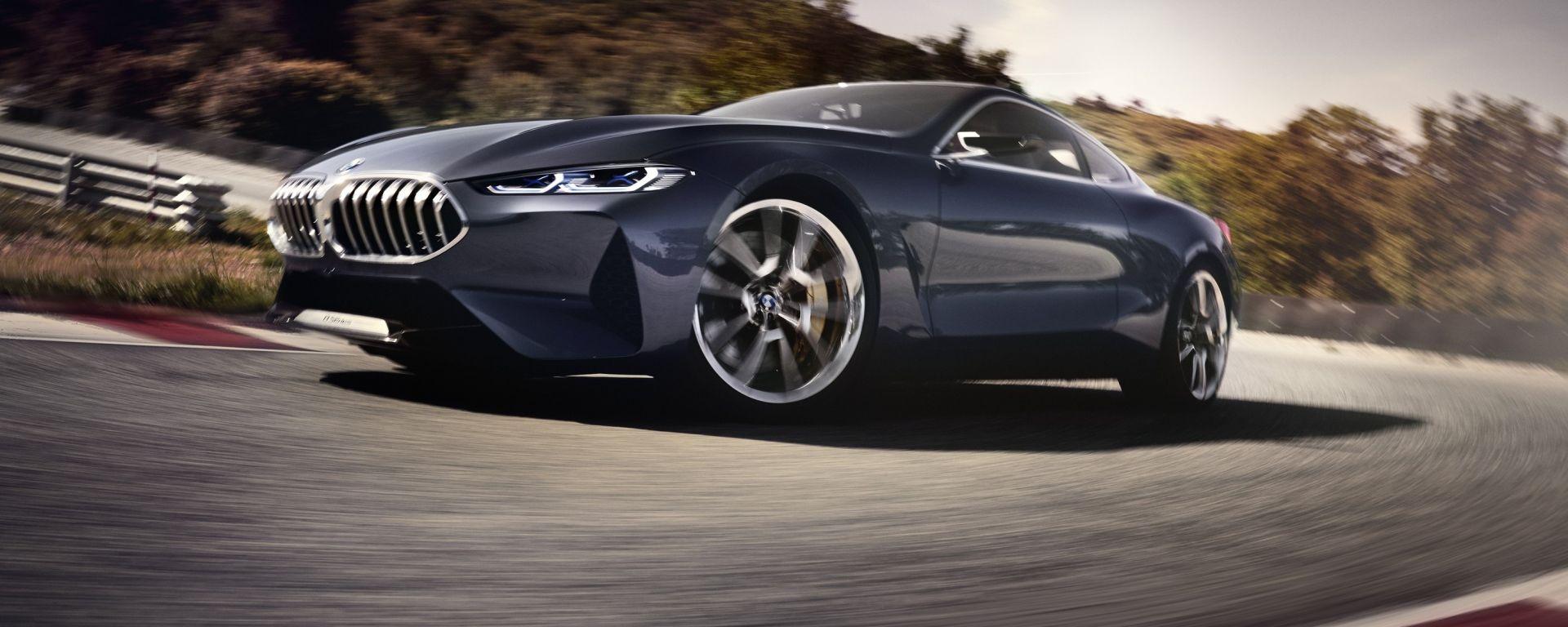 Nuova BMW Serie 8 Concept: le foto e il video ufficiali