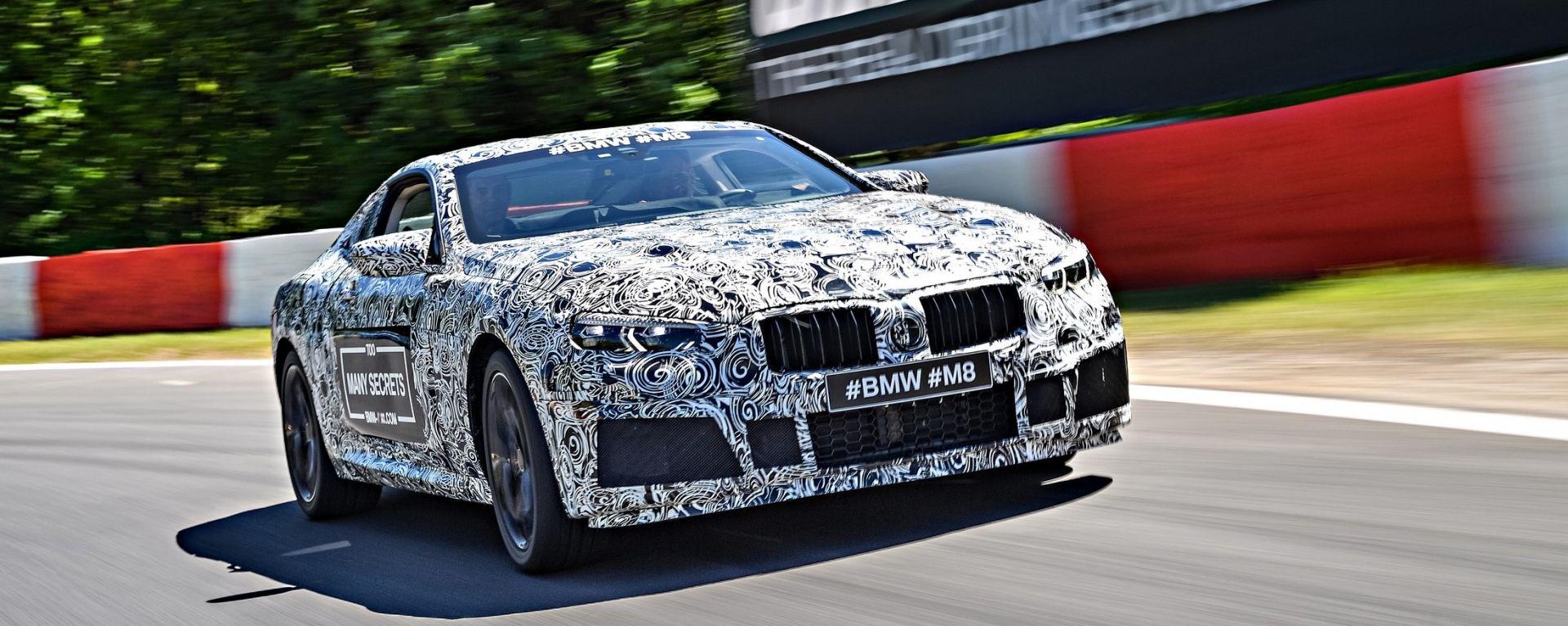 Nuova BMW Serie 8: le prime foto ufficiali