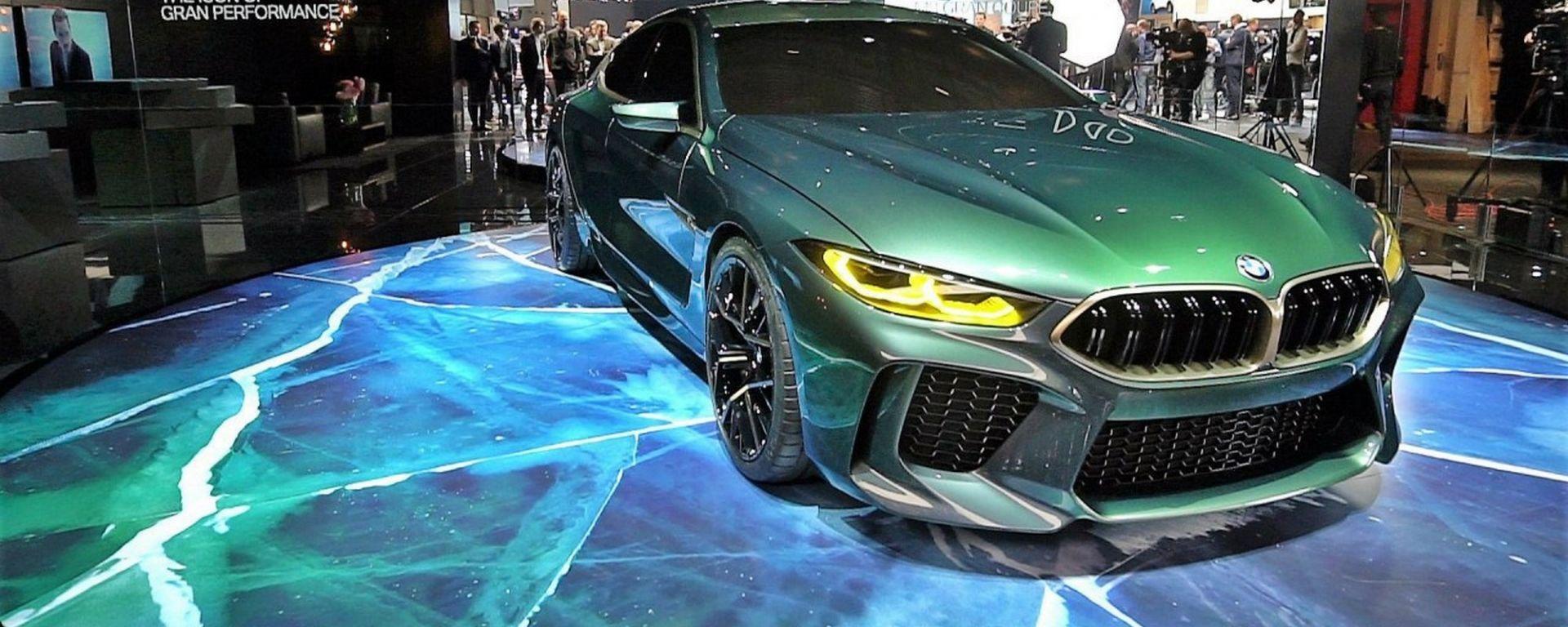 BMW M8 Gran Coupé Concept: in video dal Salone di Ginevra 2018