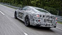 Nuova BMW Serie 8: vista 3/4 posteriore