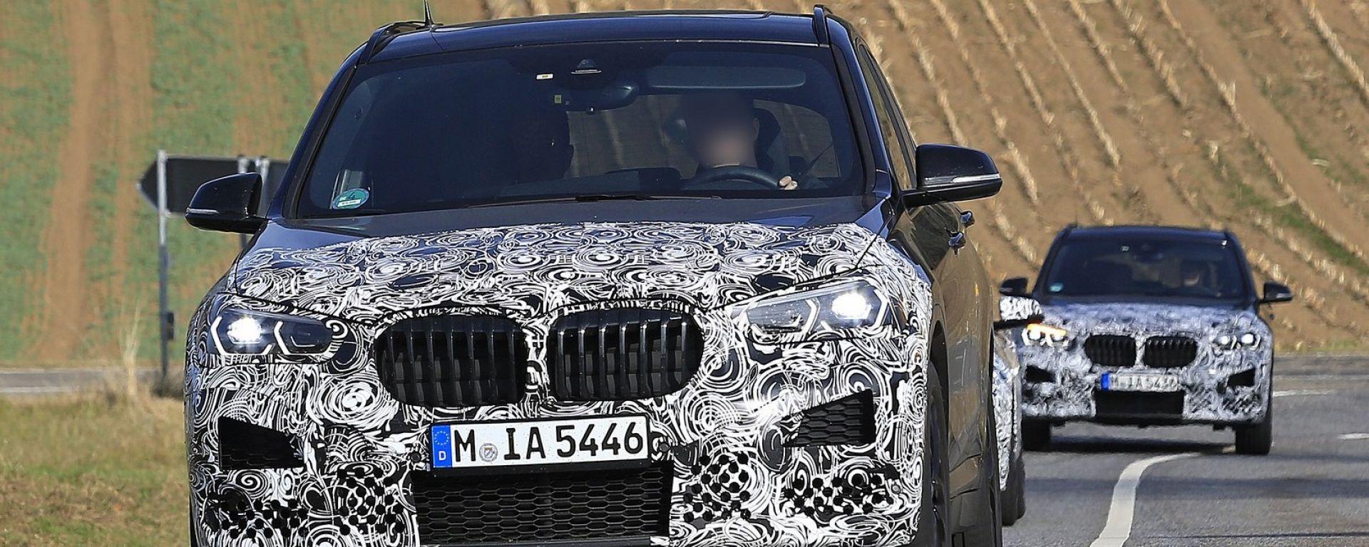 Nuova BMW X1 2019: le nuove foto del facelift