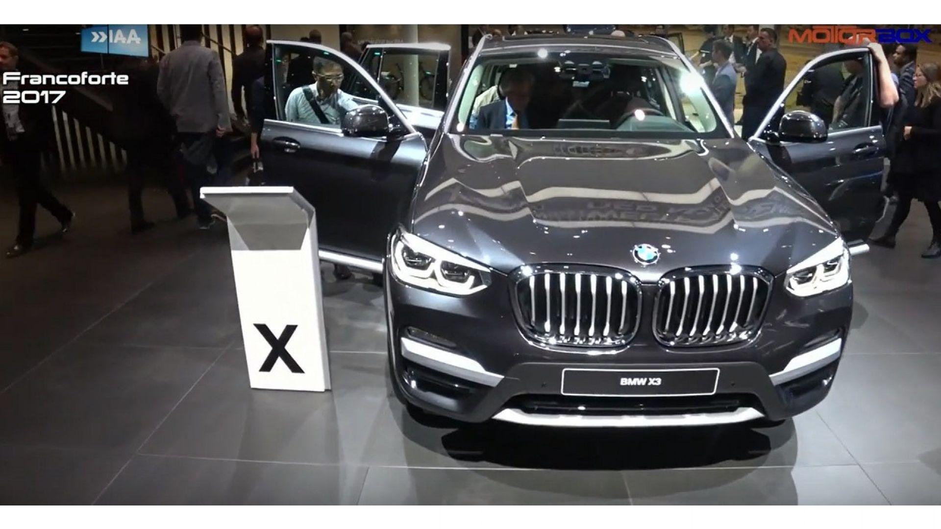 Nuova Bmw X3 2017 Interni Quando Esce Uscita Prezzo Motorbox