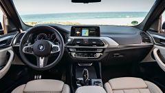Nuova BMW X3 2017: interni