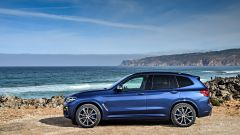 Nuova BMW X3 2017: laterale