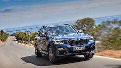 Nuova BMW X3 2017: movimento anteriore