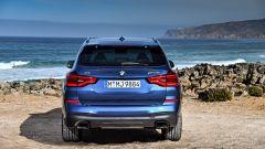 Nuova BMW X3 2017: posteriore