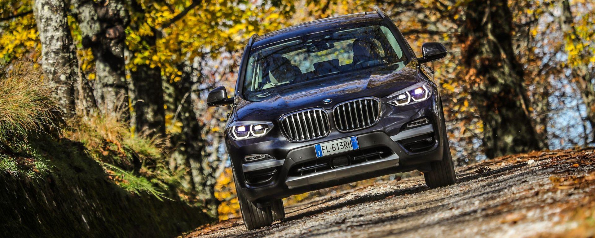 BMW X3 2018: design atletico, comfort e tanta tecnologia