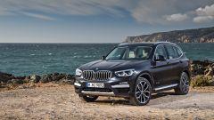 Nuova BMW X3 xDrive30d, Sophisto Grey Brilliant Effect metallic frontale